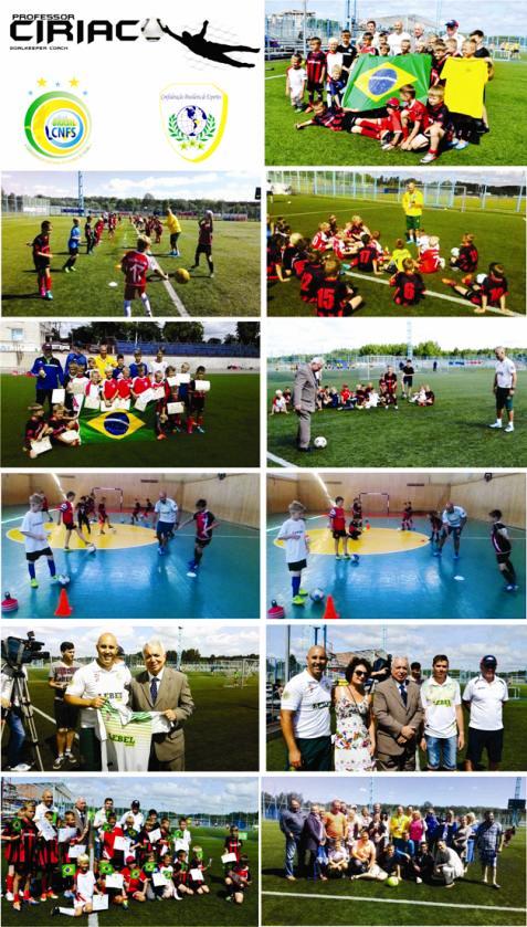 Clinica de Goleiros da Confederação Brasileira de Esportes e Confederação  Nacional de Futebol de Salão exitoso trabalho do Ciriaco Professorr 97a4c3309d7bd