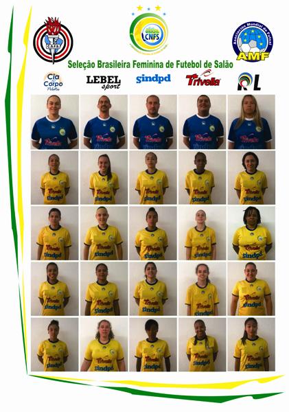 1d93d29632ac6 Seleção Brasileira Feminina de Futebol de Salão da Confederação Nacional de  Futebol de Salão www.cnfsfutsal.com.br. Campeonato Sul americano Feminino  de ...